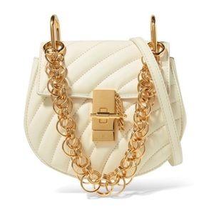 CHLOÉ | Off-White Mini Drew Bijou Bag